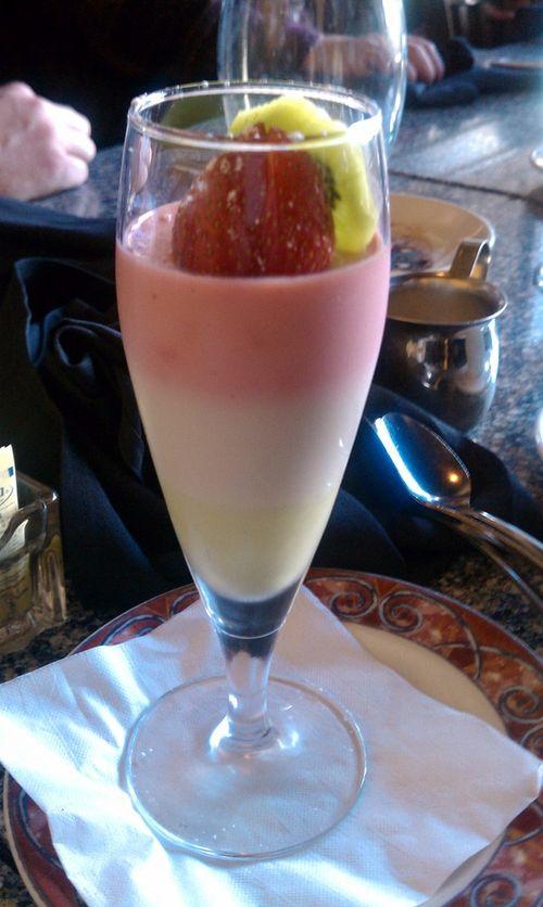 Dessert at La Grolla
